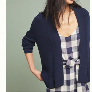 ANTHRO Banlieue Peplum Cardigan NWT in Size 2X